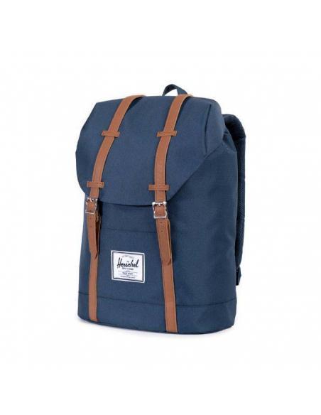 4c8bb87e21c Herschel Retreat Backpack Navy Tan