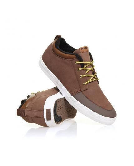 Globe Chukka Cocoa Fur Semi Boot