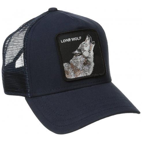 Goorin Bros Lone Wolf Navy Animal Farm Trucker Hat