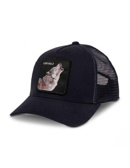 Gorra Goorin Bros Lone Wolf Navy Animal Farm Trucker Hat
