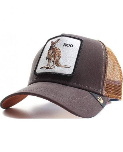 Gorra Goorin Bros Roo Brown Canguro Trucker