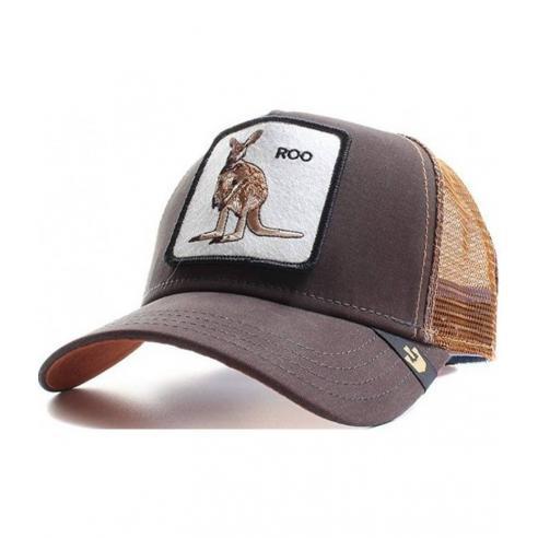 Goorin Bros Roo brown Animal Farm Trucker Hat