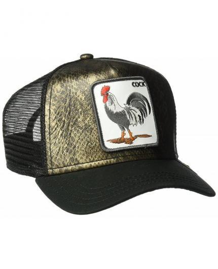 Goorin Bros Tropical black Animal Farm Trucker Hat
