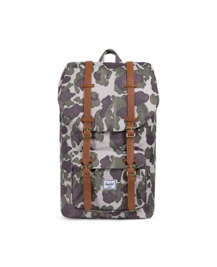 Mochila Herschel Little America 25L Backpack Frog Camo