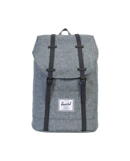 Mochila Herschel Retreat 19,5L Raven Crosshatch Backpack