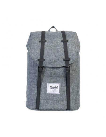 Mochila Herschel Retreat 19,5L Raven Crosshatch Backpack