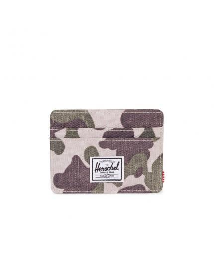 Herschel Charlie Frog Camo/RFID Card Wallet