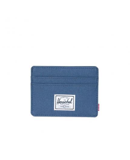 Herschel Charlie Zig Zag Navy/RFID Card Wallet