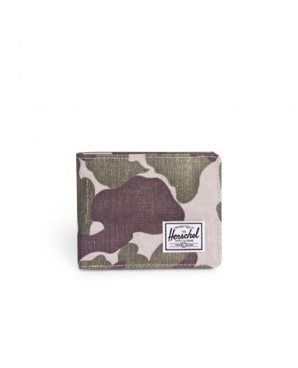Herschel Roy Frog Camo/ RFID wallet