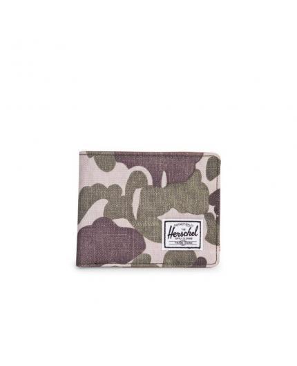 Herschel Hank Frog camo/Tan/RFID Wallet