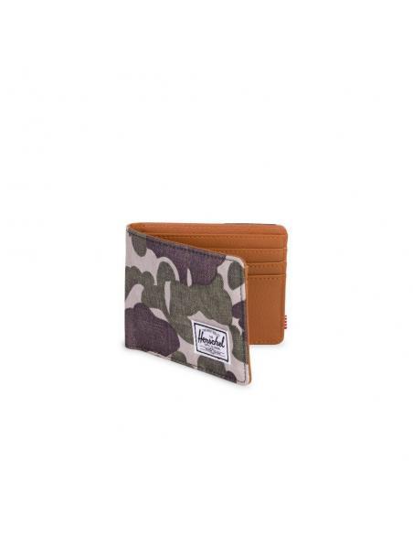Cartera Herschel Hank Frog camo/Tan/RFID