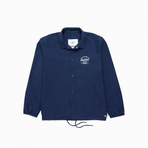Herschel Voyage Coach Peacoat/ White classic logo Jacket
