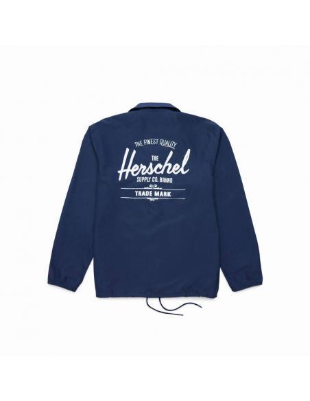 Cazadora Herschel Voyage coach Peacoat/White Classic Logo