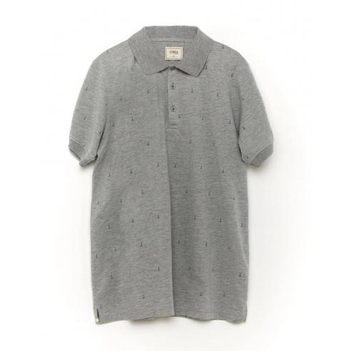 Polo Tiwel Hube Grey Melange