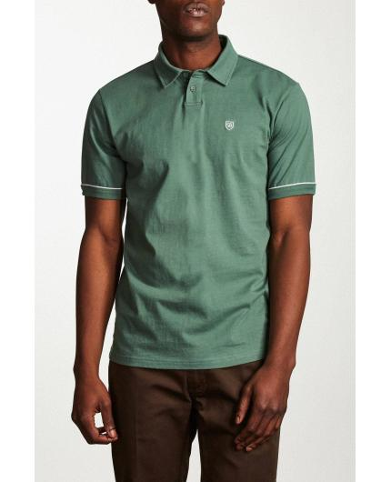 Polo Carlos s/s washed chive