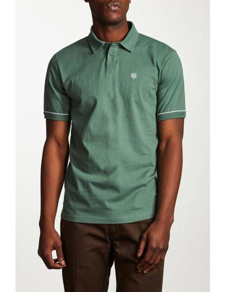 Brixton Carlos s/s washed chive Polo