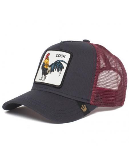 Goorin Bros Prideful Black Animal Farm Trucker Cat