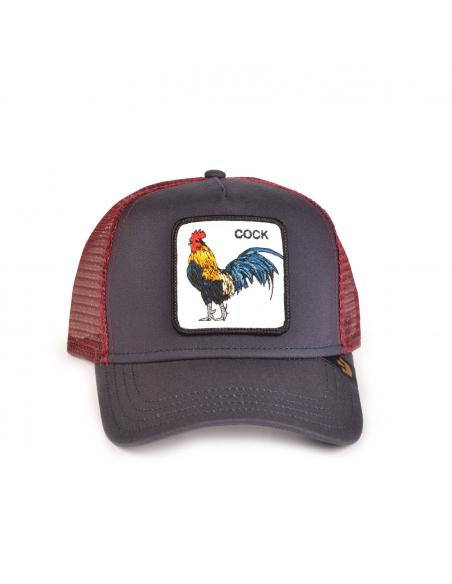 Gorra Goorin Bros Prideful Gallo Negro y Granate 2