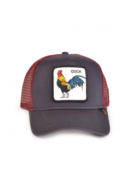 Gorra Goorin Bros Prideful Gallo Negro y Granate 2