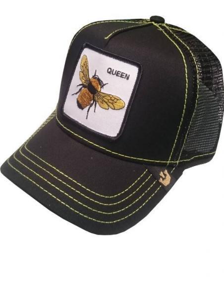 Gorra Goorin Bros Queen Bee Abeja Negro