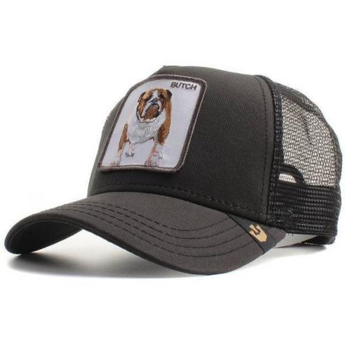 Goorin Bros Butch Black Dog Trucker Cap