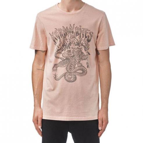 Camiseta Globe Karma Bites Coral