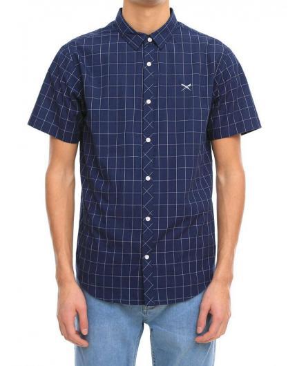 Iriedaily Mc Kieran SL navy Shirt