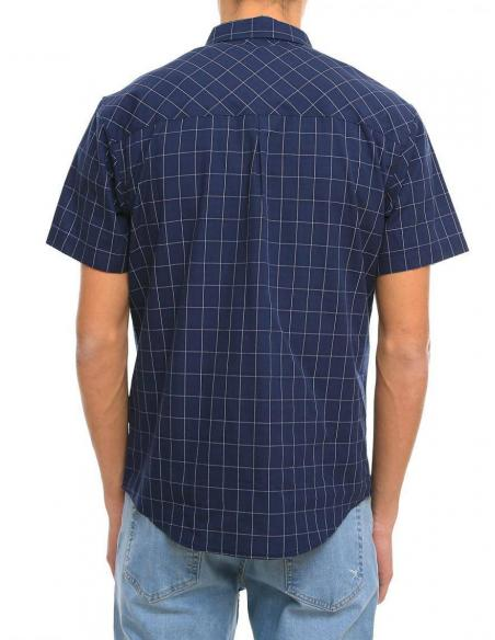 Iriedaily Mc Kieran SL navy Shirt
