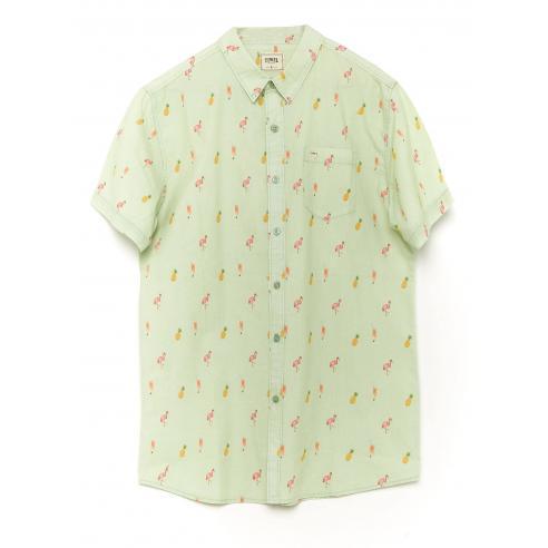 Tiwel Aruba Pastel green Shirt