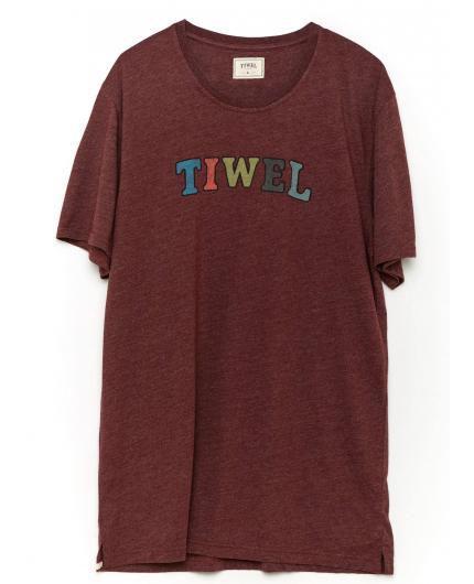 Camiseta Tiwel Multi Tee Marsala Melange