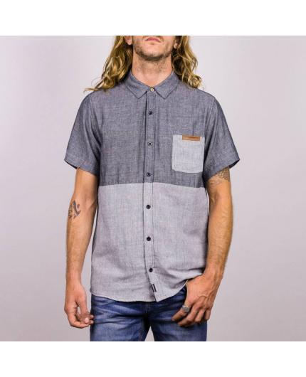 Camisa Hydroponic Main Street Dark grey