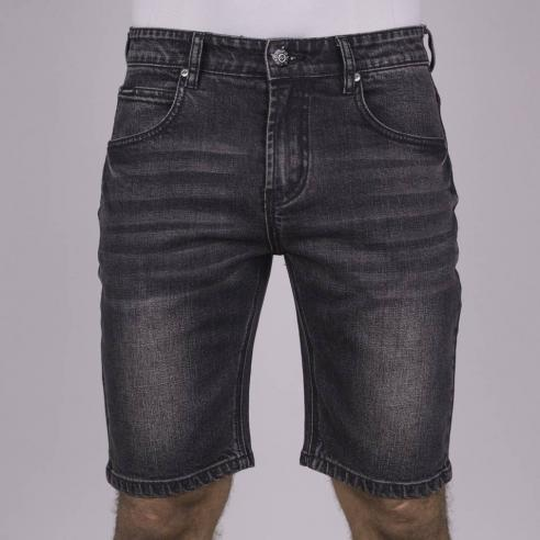 Hydroponic Mackay DNM Used Black Denim Short