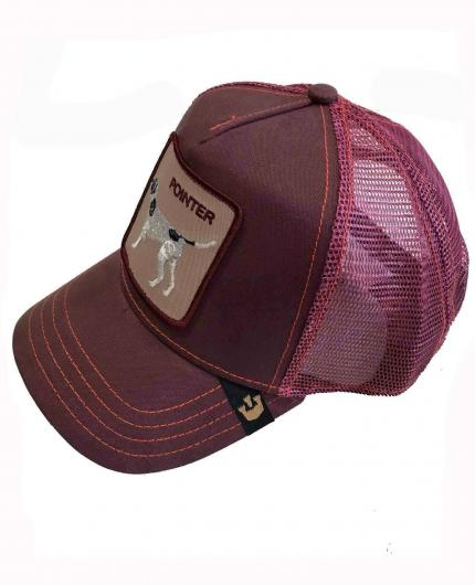 Gorra Goorin Bros The Pointer Wine New Perro