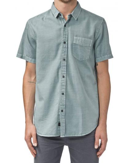 Camisa Globe Goodstock Vintage ss Shirt Breeze Green