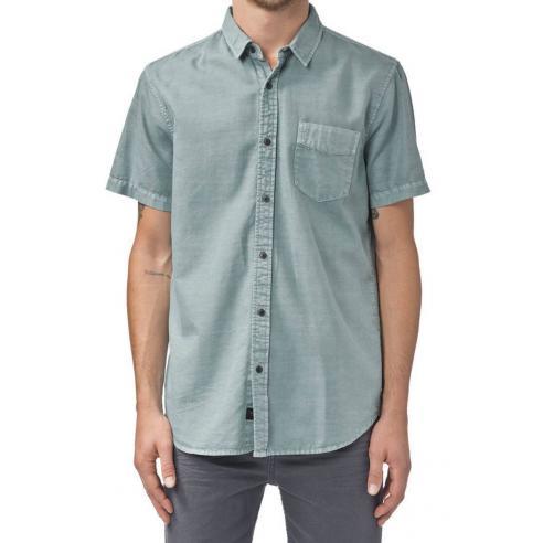 Camisa Globe Goodstock Vintage ss Shirt Breeze Green