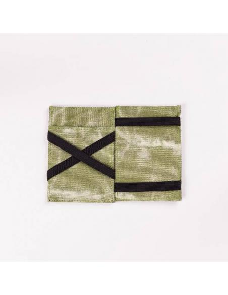 Hydroponic Bling Wallet Army Canvas used