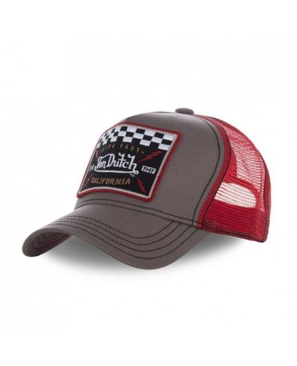 Gorra Von Dutch Square17 Rojo