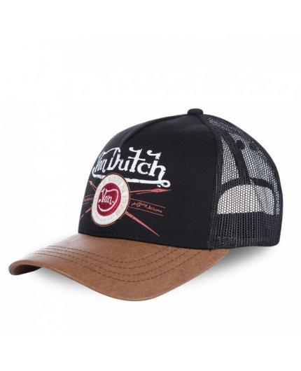 Von Dutch PIN Black Brown Cap