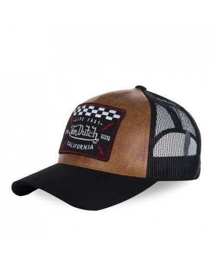 Von Dutch GRL2 Black Brown Cap