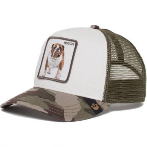 Goorin Bros Butch Camouflage Dog Trucker Cap