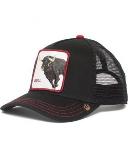 Goorin Bros Bull Honky black Animal Farm Trucker Hat