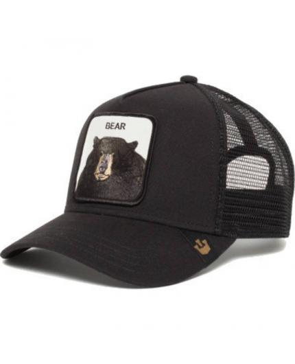 Gorra Goorin Bros Bear Oso Negro Animal Farm