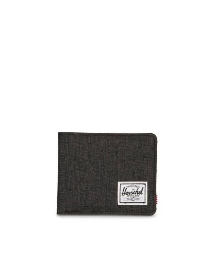 Herschel Roy wallet Black Crosshatch