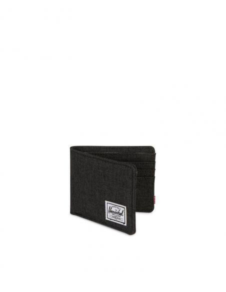 Herschel Roy wallet Black Crosshatch
