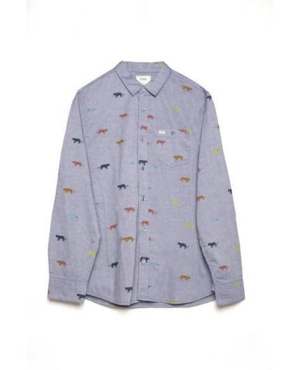 Tiwel Tigers Light blue melange Shirt