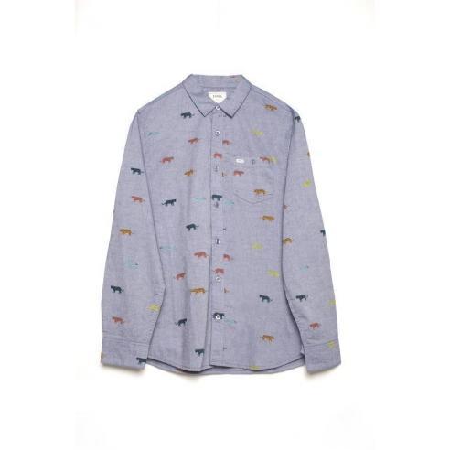 Tiwel Tigers Light blue melange Shirt