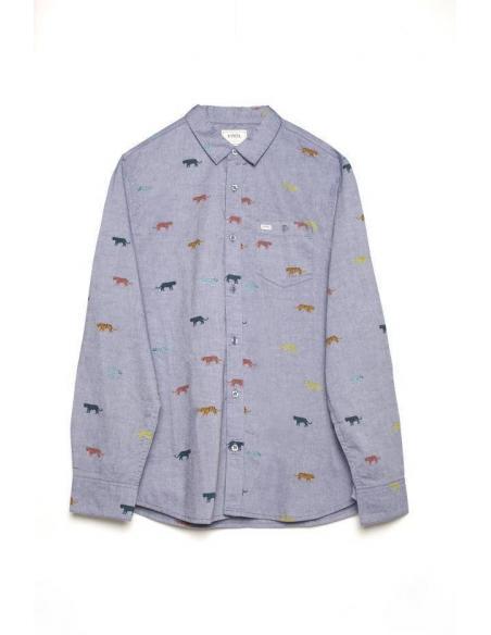 Camisa Tiwel Tigers Light blue melange