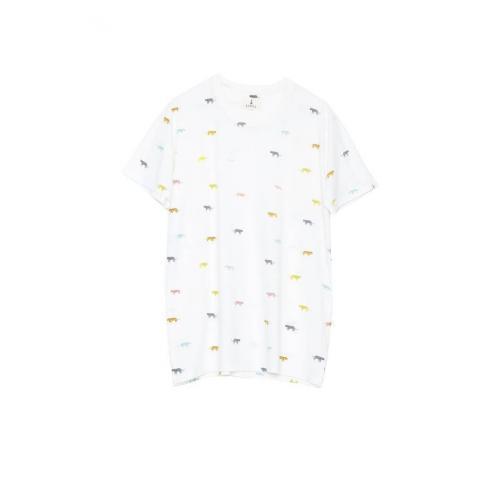 Tiwel Madtigris Snow white melange T-shirt
