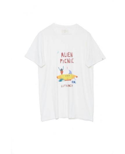 Camiseta Tiwel Alien Rock by Maria Diamantes