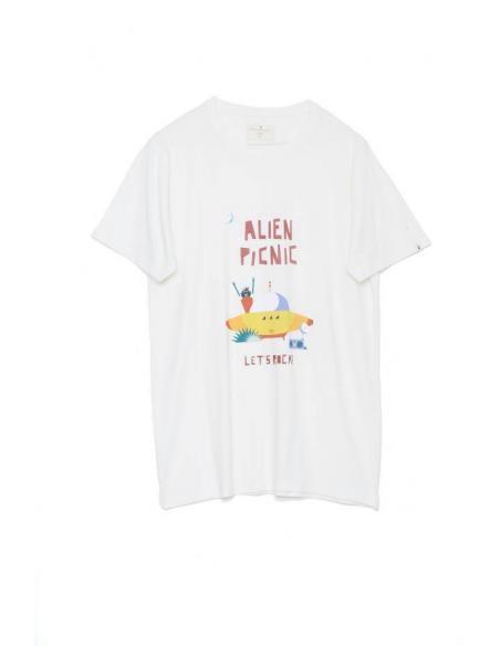 Tiwel Alien Rock by Maria Diamantes T-shirt
